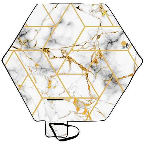 Patterns Line Marble Gold
